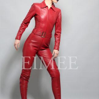 Leder-Overall-Farbe-rot-1