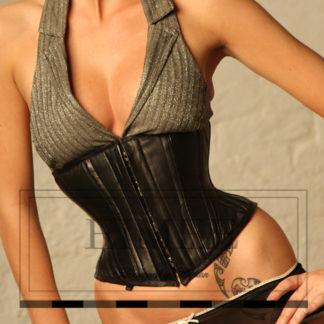 Damen Unterbrust-Korsett Taillenformer 1